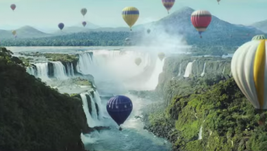 Photo of Perrier Balloon Commercial